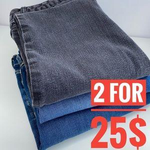 Bundle 3 Pair of Jeans Boys 16